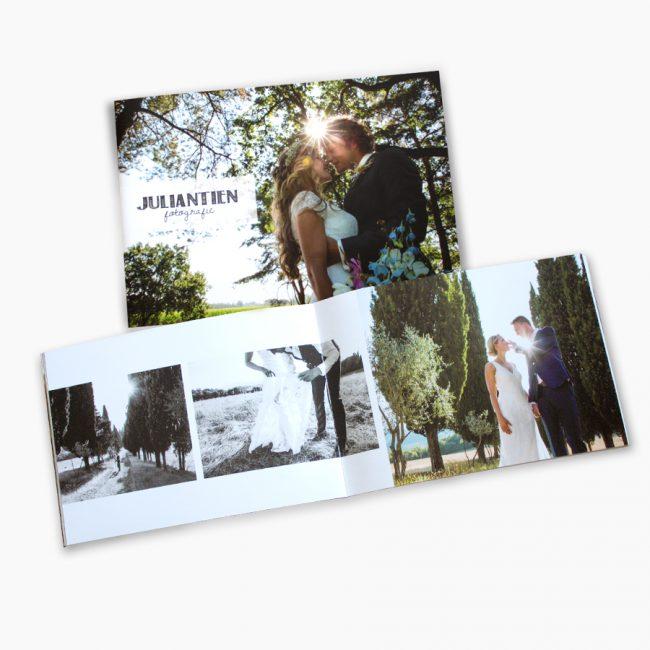 juliantien fotografie brochure bruidsfoto's bruidsfotograaf overijssel Studio Vol Vertrouwen Overijssel Vriezenveen grafisch ontwerp illustratie
