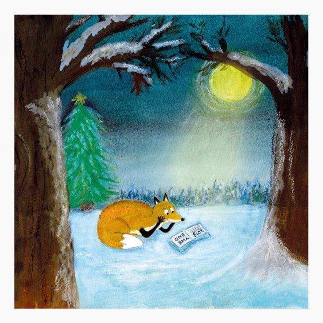 Studio Vol Vertrouwen Overijssel Vriezenveen grafisch ontwerp illustratie vos boek lezen bos