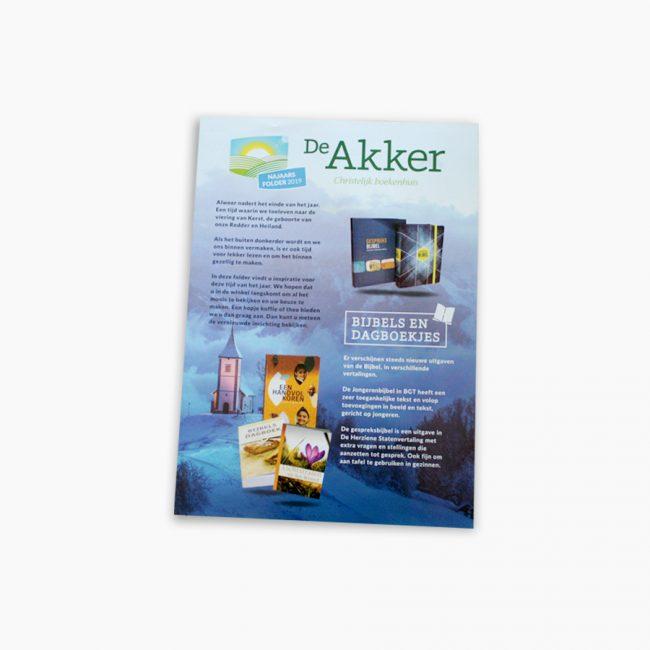 De Akker christelijkboekenhuis christen boeken bijbel najaar folder