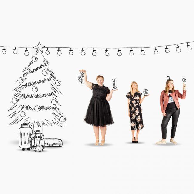 Studio Vol Vertrouwen Vriezenveen Overijssel Op en Top Vrouw kerst