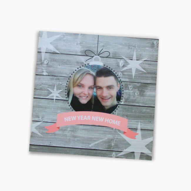 Verhuiskaartje nieuw huis kaartje sleutel nieuwe woning kerstkaart nieuw jaar