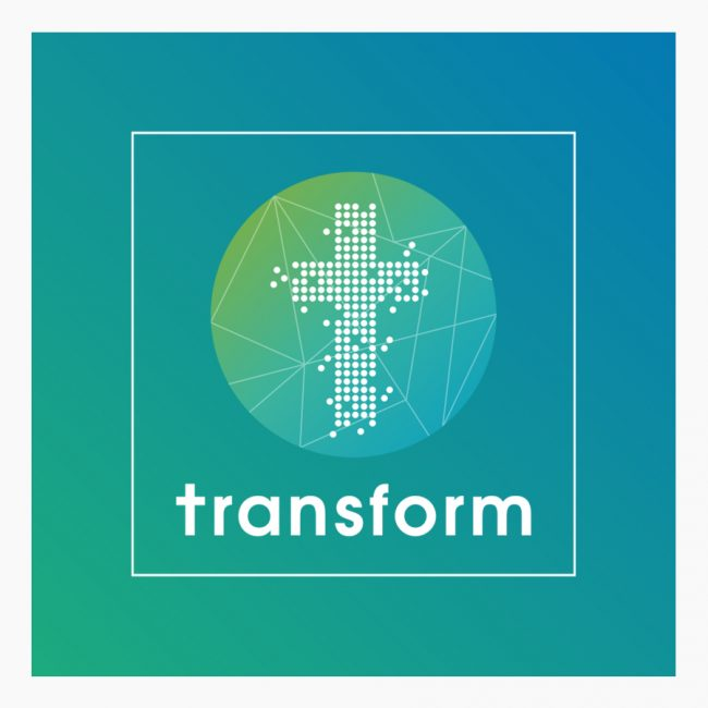 Studio Vol Vertrouwen logo ontwerp transform